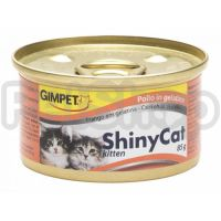 Gimpet Shiny Cat Kitten Chicken ( джимпет шайни кэт в желе - консервы для котят с курицой)
