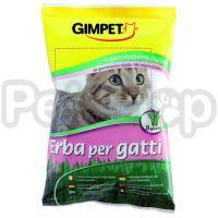 Gimpet Cat Grass (джимпет с травой Кошки постоянно нуждаются в траве, которая помогает им очистить желудок от комков шерсти)