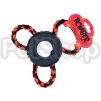 Hagen Bomber Tri Loop ( Жесткая и прочная интерактивная игрушка для собак)
