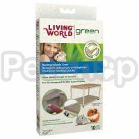 Hagen Living World Green Biodegradable Liners ( Биоразлагаемая подстилка для клеток )