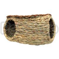 Hagen Living World Green - Seagrass Hut ( Домик плетеный из натуральных водорослей для средних грызунов)