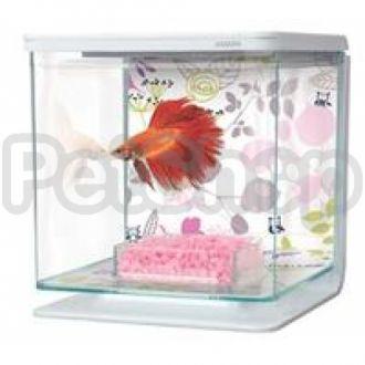 Hagen Marina Betta Kit Floral - аквариум для петушка, 13354