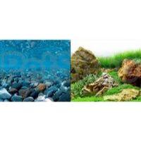 Hagen №11758 - фон для аквариума река с камнями/японский сад, высота 60 см