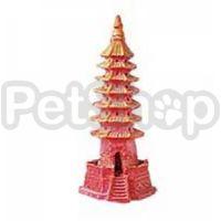 KW Zone Буддистский храм - декорация для аквариума