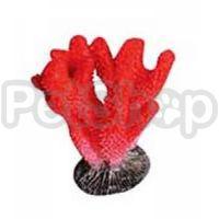 KW Zone Коралл красный - декорация для аквариума