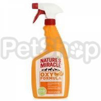 Nature's Miracle Orange-Oxy Formula Stain & Odor Remover Just for Cats ( Уничтожителе пятен и запахов)