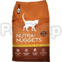 Nutra Nuggets Professional ( Корм нутра наггетс разработан для взрослых активных котов и кошек, а также для кошек в период беременности и лактации)