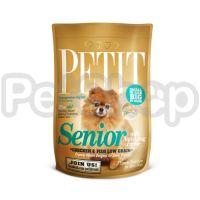 Petit Senior (низкозерновой корм супер премиум класса с курицей и рыбой для стареющих собак миниатюрных и мелких пород)
