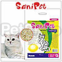 Природа SaniPet Cat Lemon ( Гигиеничный наполнитель для котов c ароматом лимона)