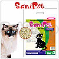 Природа SaniPet Cat Nature ( Гигиеничный древесный наполнитель для котов без запаха)