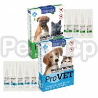 Природа Инсектостоп ProVet ( Эффективный препарат на основе фипронила от блох и клещей для собак и котов)