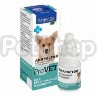 Природа Акаростоп ProVet ( Капли для лечения собак, котов и кроликов при отодектозе, саркоптозе, нотоэндрозе и демодекозе)