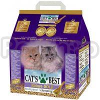 Cat's Best Nature Gold ( Идеальный древесный комкующийся наполнитель для длинношерстных кошек)