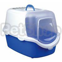 Trixie Vico Easy Clean ( Туалет закрытый для котов с удобной откидной передней частью для простоты уборки)