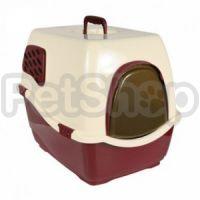 Trixie BILL-1 ( Туалет закрытый для кота с крышкой, дверцей и ручкой)