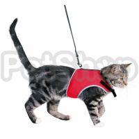 Trixie  Шлея и поводок для кошки