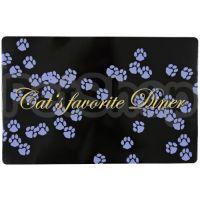 Trixie Cat's favourite Diner ( Коврик под миски пластиковый)