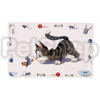 Trixie Comic Cat ( Коврик под миски нескользящий)