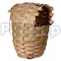Trixie Exotic Nest ( Гнездо для птиц плетеное из бамбука)