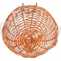 Trixie Canary Nest ( Гнездо для канареек плетеное из бамбука с металлическим креплением)