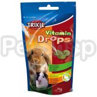 Trixie Vitamin Drops ( Витаминизированные лакомства для кроликов и морских свинок)