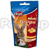 Trixie Milk Drops ( Витаминизированные лакомства с медом и молоком для кроликов и морских свинок)
