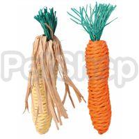 Trixie Морковь и кукуруза ( Морковь и кукуруза из сизаля для грызунов)
