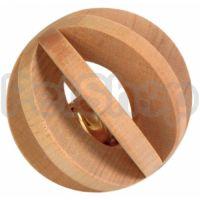Trixie Шарик деревянный ( Шарик деревянный с колокольчиком для грызунов)