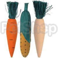 Trixie Wooden Fun ( Деревянная игрушка для грызунов с соломой)