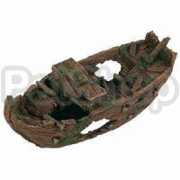Trixie Разбитая лодка - декорация для аквариума, 8876