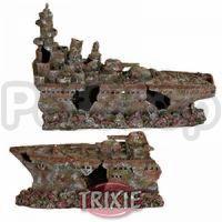 Trixie Разбитый военный корабль - декорация для аквариума, 8886