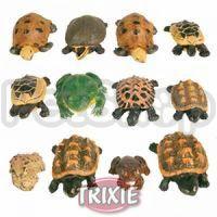 Trixie Набор из 12 лягушек и черепах - декорация для аквариума, 8971
