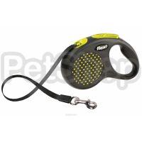 Flexi Design Compact M ( Ременной поводок-рулетка для собак весом до 50 кг)