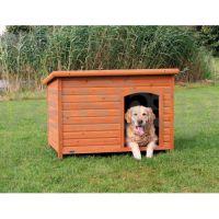 Trixie Dog Kennel ( Будка для собак из лакированой сосны с открывающейся крышей)