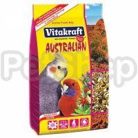 Vitakraft Australian (витакрафт австралиан Основной корм для средних австралийских попугаев)