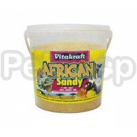 Vitakraft African Sandy ( Натуральный песок высшего качества с добавлением аниса гарантирует отличное впитывание жидкости)
