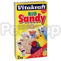 Vitakraft Bio Sandy ( Биологически чистый натуральный песок с известью, минералами и свежим фруктовым ароматом)