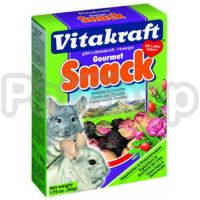 Vitakraft Gourmet Snack (витакраст гурме снэк смесь из плодов шиповника и цветков розы)